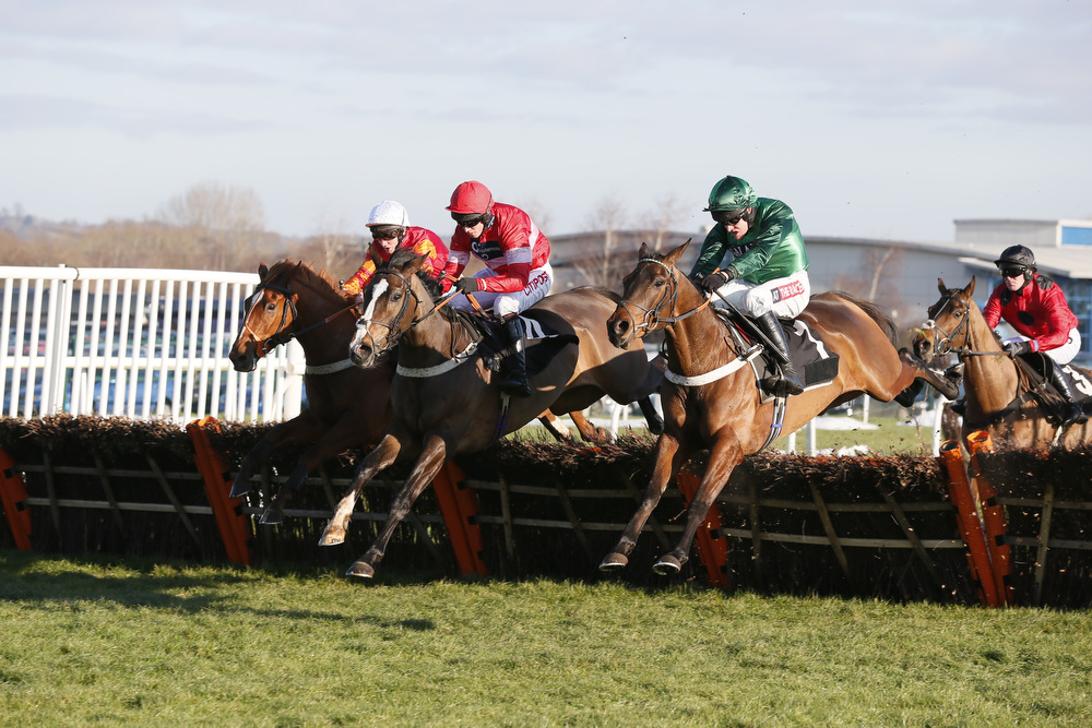 Top Notch, winner of the Betfred 'Fun & Friendly' Hurdle at Newbury on 29 December