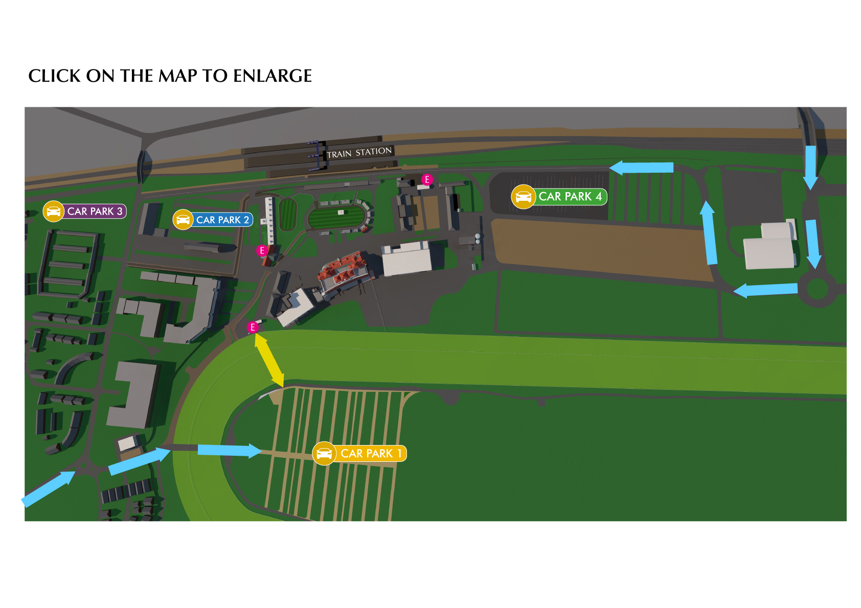car parking newbury racecourse. Black Bedroom Furniture Sets. Home Design Ideas